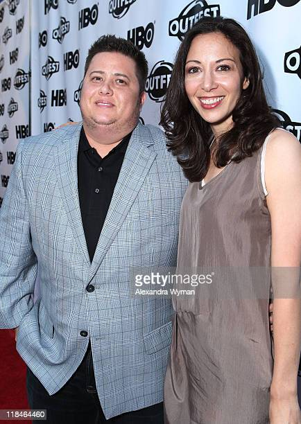 Chaz Bono and Jennifer Elia at The 29th Annual Gay Lesbian Film Festival Opening Night Gala screening of Gun Hill Road held at The Orpheum Theatre on...