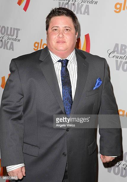 Chaz Bono arrives at the 21st Annual GLAAD Media Awards held at Hyatt Regency Century Plaza on April 17 2010 in Century City California