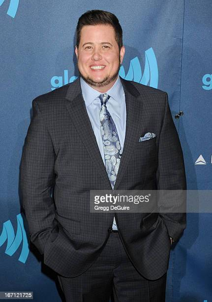 Chaz Bono arrives at the 24th Annual GLAAD Media Awards at JW Marriott Los Angeles at LA LIVE on April 20 2013 in Los Angeles California
