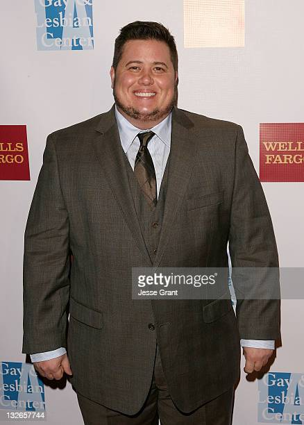 Chaz Bono arrives at the LA Gay Lesbian Center's 40th Anniversary Gala and Auction at the Westin Bonaventure Hotel on November 12 2011 in Los Angeles...