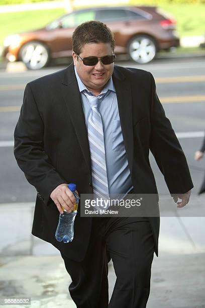 Chaz Bono arrives to the Santa Monica Courthouse to formally ask a judge to change his name and gender following his 2009 sex change surgery, on May...