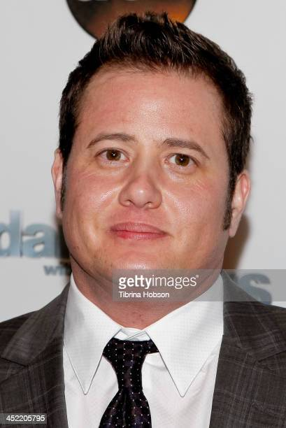 Chaz Bono attends the 'Dancing With The Stars' wrap party at Sofitel Hotel on November 26, 2013 in Los Angeles, California.
