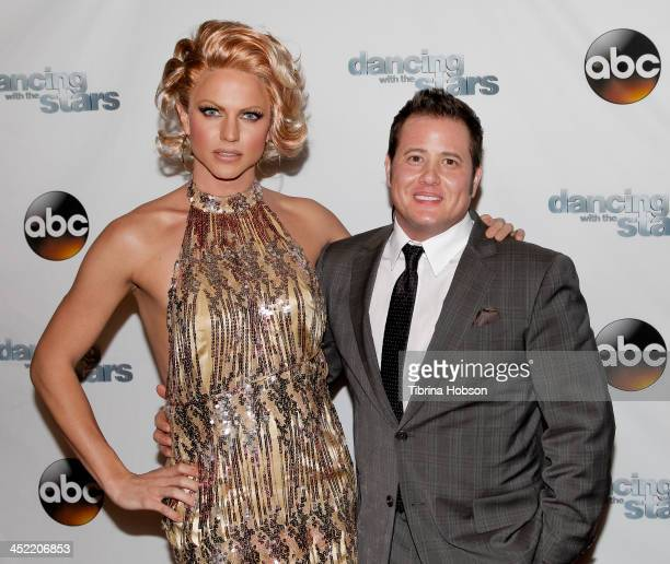 Chaz Bono attends the 'Dancing With The Stars' wrap party at Sofitel Hotel on November 26 2013 in Los Angeles California