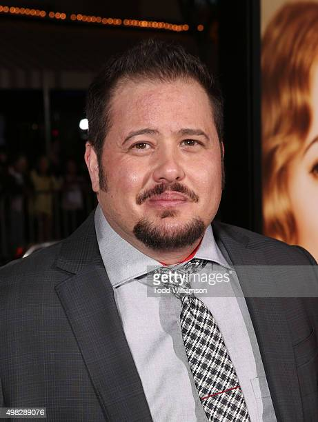 Chaz Bono attends the premiere Of Focus Features' The Danish Girl on November 21 2015 in Westwood California