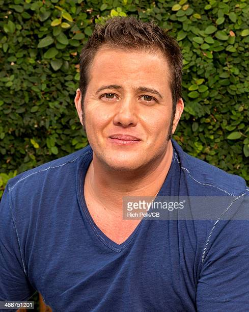 Chaz Bono is seen during an at home photo shoot November 4 2013 in West Hollywood California