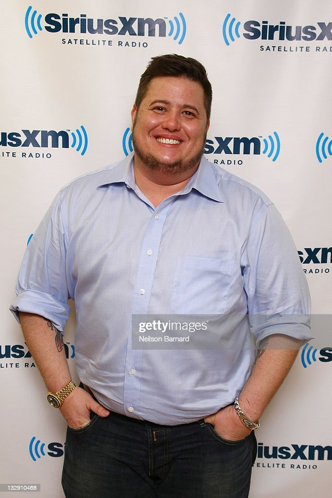 Chaz Bono And Jason Segel Visit SiriusXM