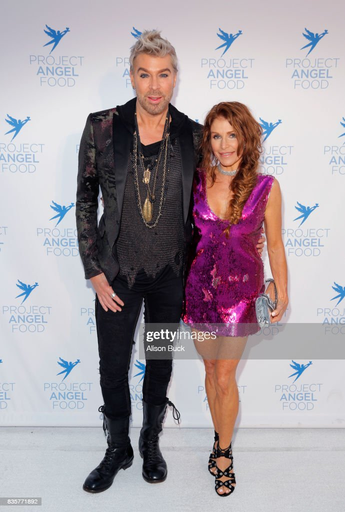 Chaz Dean and guest attend Project Angel Food's 2017 Angel Awards on August 19, 2017 in Los Angeles, California.