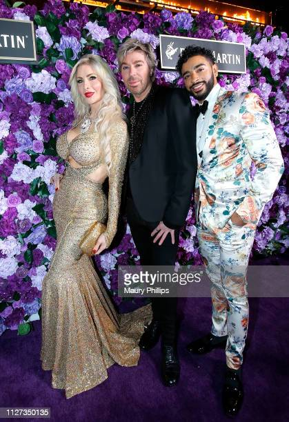 Chaz Dean and guest attend The Griot Gala Oscars After Party 2019 at The District by Hannah An on February 24 2019 in Los Angeles California