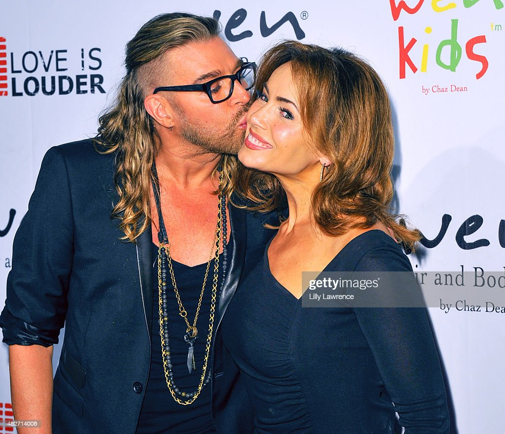 Chaz Dean And Lisa Robertson Attend Summer Soiree Wen New Product Launch On