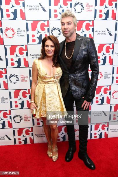 Chaz Dean and wife Joanne Ferra attend the Los Angeles LGBT Center's 48th Anniversary Gala Vanguard Awards at The Beverly Hilton Hotel on September...