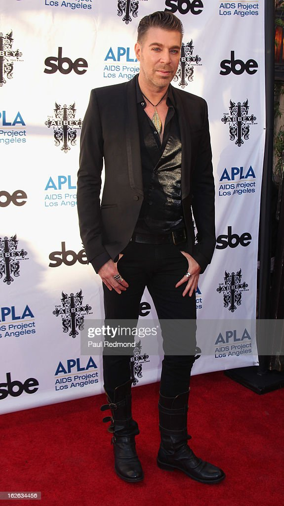 Chaz Dean arrives at APLA and The Abbey's 12th Annual 'The Envelope Please' Oscar Viewing Party at The Abbey on February 20, 2013 in West Hollwwod, California.