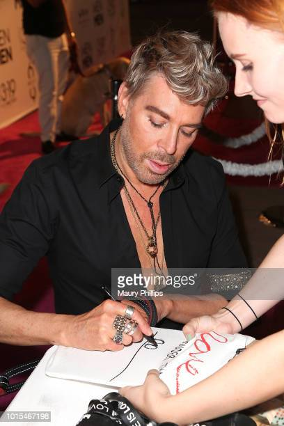 Chaz Dean attends Chaz Dean Summer Party 2018 Benefiting Love is Louder on August 11 2018 in Los Angeles California