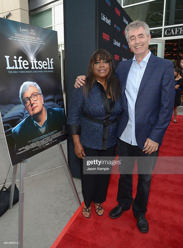 "Premiere Of Magnolia Pictures' ""Life Itself"" - Red Carpet : Foto jornalística"