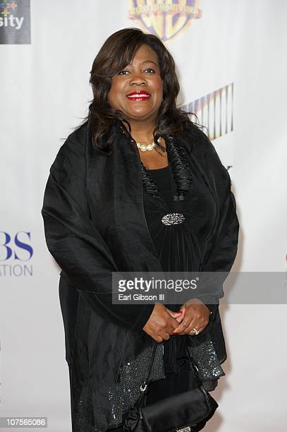 Chaz Ebert appears on the red carpet for the 2nd Annual AAFCA Awards to accept an award for her husband Roger Ebert on December 13 2010 in Los...