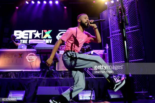 Chaz French performs onstage at the BETX On The Road DMV Concert at The Fillmore Silver Spring on July 26 2017 in Silver Spring Maryland