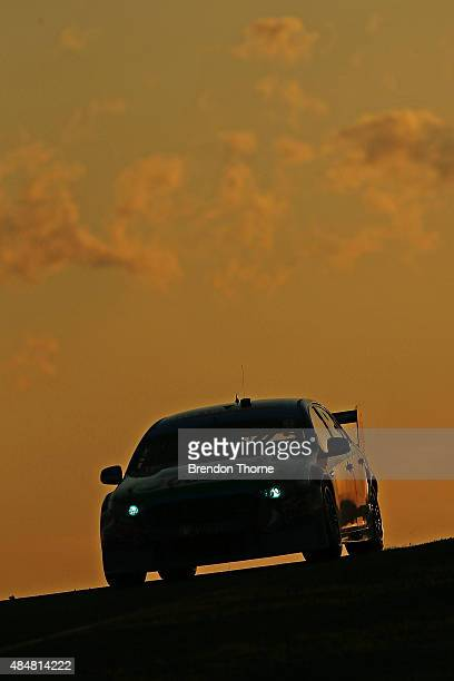 Chaz Mostert driver of the Pepsi Max Crew Ford during race for the V8 Supercars Sydney Motorsport Park Supersprint at Sydney Motorsport Park on...