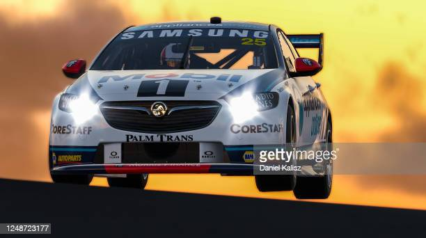 Chaz Mostert drives the Mobil 1 Appliances Online Racing Holden Commodore ZB during round 10 of the Supercars All Stars Eseries at Oran Park Racway...