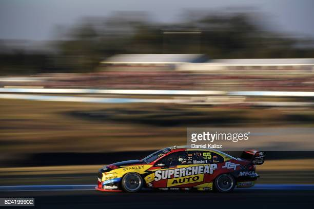 Chaz Mostert drives the Supercheap Auto Racing Ford Falcon FGX during race 15 for the Ipswich SuperSprint which is part of the Supercars Championship...