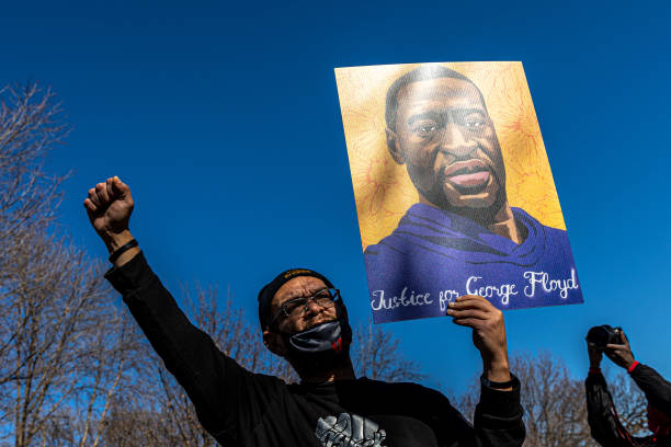 MN: Activists Rally For Justice For George Floyd Ahead Of Trial Of Derek Chauvin