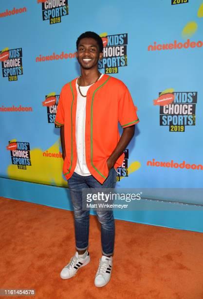 Chaz Smith attends Nickelodeon Kids' Choice Sports 2019 at Barker Hangar on July 11, 2019 in Santa Monica, California.