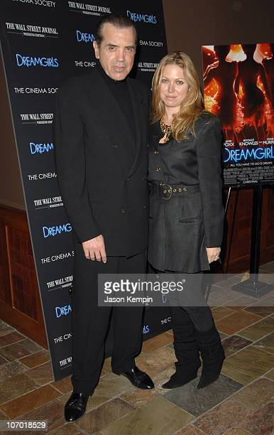 Chazz Palminteri and Gianna Palminteri during Dreamgirls New York Screening Hosted by the Cinema Society and the Wall Street Journal Inside Arrivals...