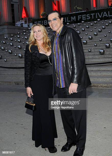 Chazz Palminteri and Gianna Ranaudo arrive at New York State Supreme Court for the Vanity Fair Party during the 2010 Tribeca Film Festival on April...