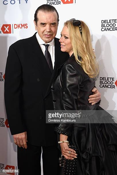 Chazz Palminteri and Gianna Ranaudo attend the 10th Annual Delete Blood Cancer DKMS Gala at Cipriani Wall Street on May 5 2016 in New York City