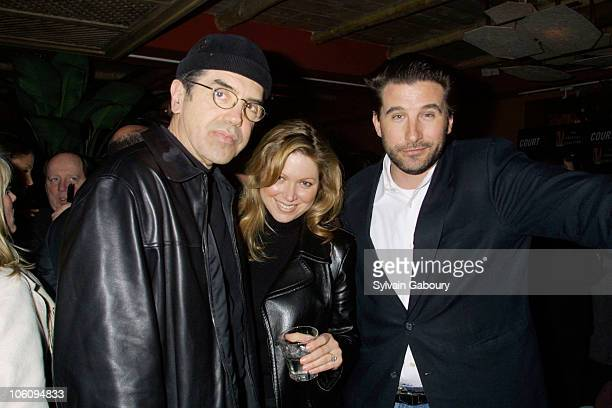 Chazz Palminteri and his wife with William Baldwin