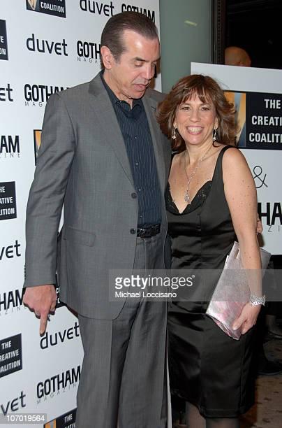 Chazz Palminteri and Robin Bronk Executive Director The Creative Coalition