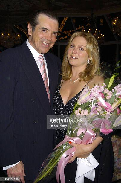 Chazz Palminteri and wife Gianna Ranaudo during The 6th Annual Cooleys Anemia Foundations Springtime in New York Gala at The Tavern on The Green in...