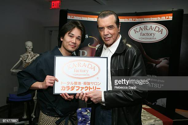 Chazz Palminteri at Backstage Creations Celebrity Retreat at Haven360 at Andaz Hotel on March 5 2010 in West Hollywood California