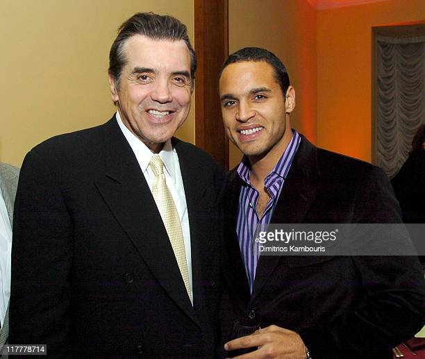 "Chazz Palminteri, director and Daniel Sunjata during ""Noel"" New York City Premiere - After Party at Chanterelle in New York City, New York, United..."