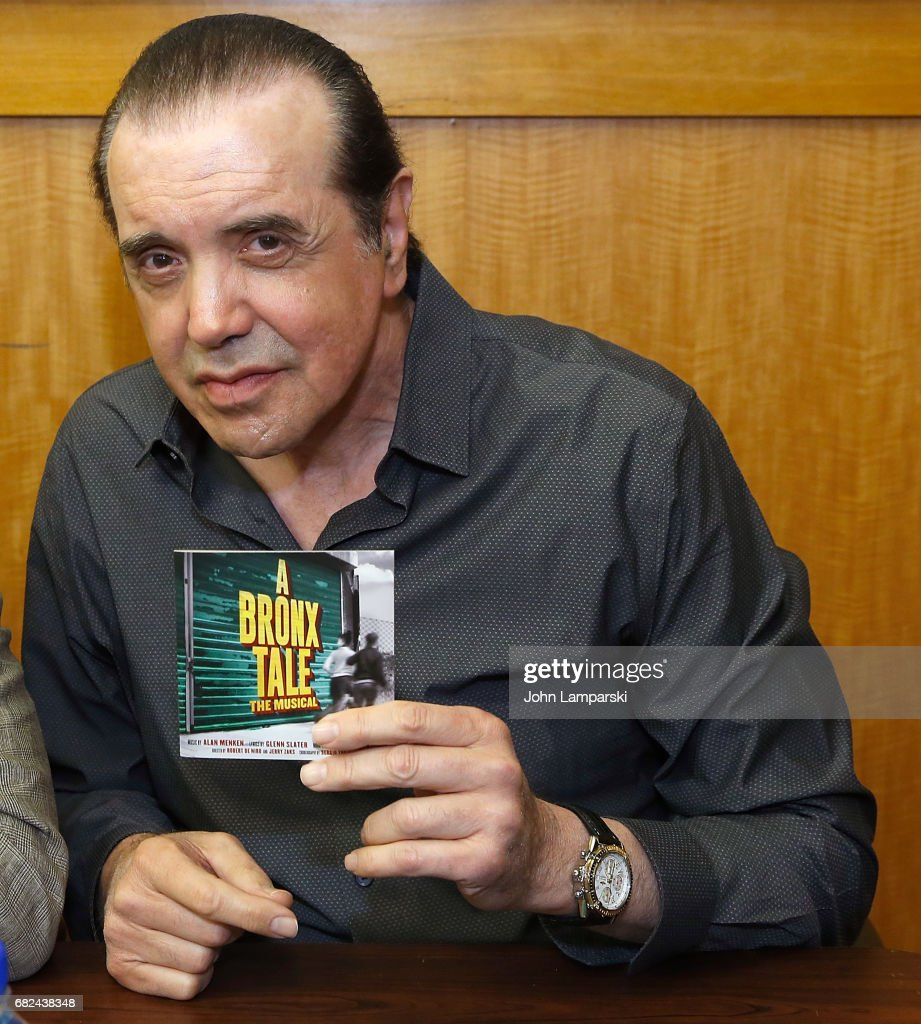 "Cast & Creators of Broadway's ""A Bronx Tale"" Sign Copies Of The Show Soundtrack"