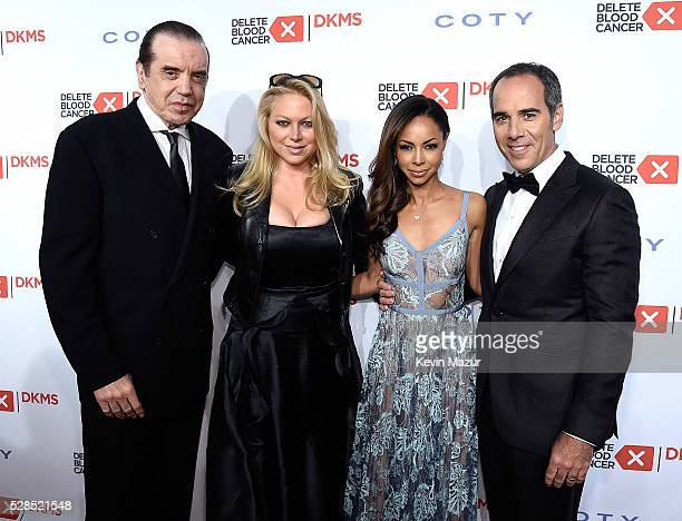 Chazz Palminteri Gianna Ranaudo Angelina Lipman and President Republic Records Monte Lipman attend the 10th Annual Delete Blood Cancer DKMS Gala at...
