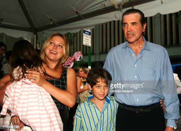 Chazz Palminteri wife Gianna Palminteri and son Dante