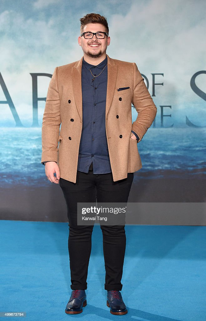 Che Chesterman attends the European Premiere of 'In The Heart Of The Sea' at Empire Leicester Square on December 2, 2015 in London, England.