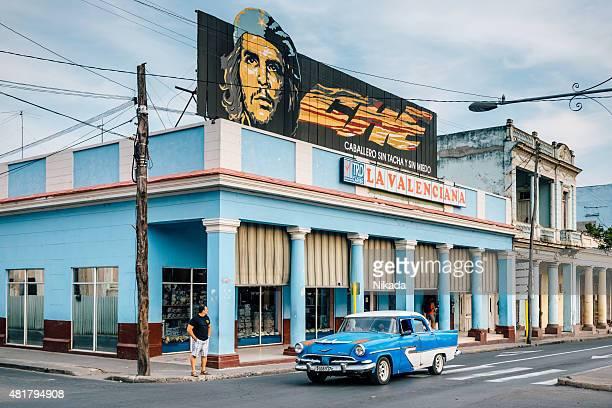 Che Guevara banner in Cuba