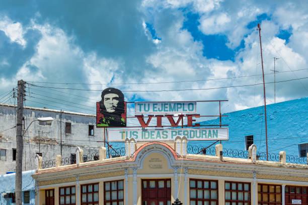 Che Guevara Billboard, Cienfuegos, Cuba