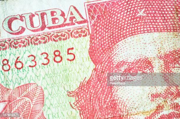 Che Guevara en un billete de banco de Cuba