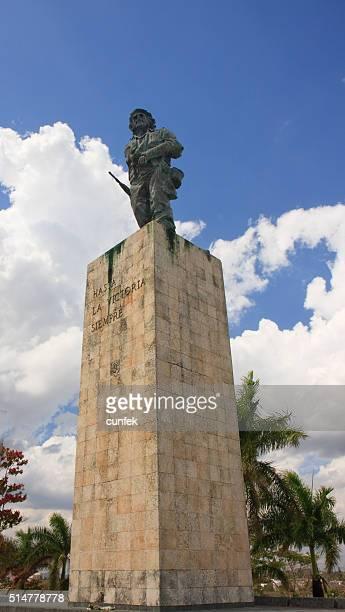 チェ・ゲバラの像のサンタクララ - キューバ サンタクララ ストックフォトと画像