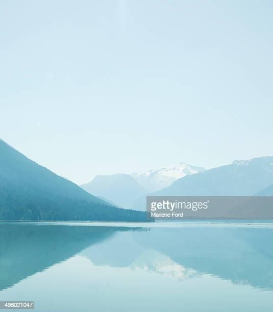Cheakamus Lake landscape