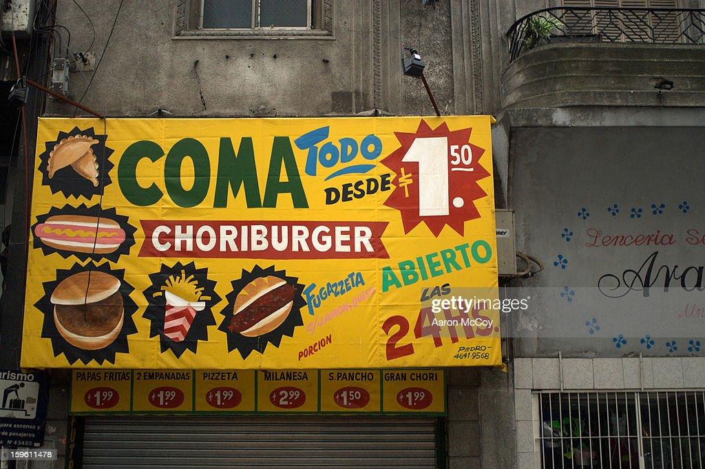 Cheap food : Foto de stock