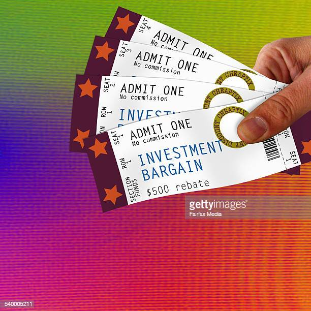 A cheap ticket to wealth 19 August 2006 Note This image has been digitally manipulated AFR Photoillustration by DOROTHY WOODGATE