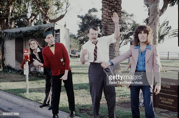 Cheap Trick group shot in USAl unknown 1978