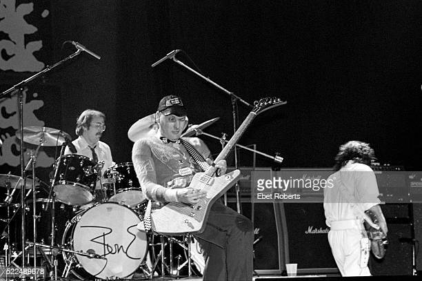 Cheap Trick performing at Madison Square Garden in New York City on May 12 1980