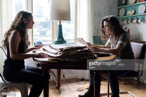 THE MAGICIANS Cheat Day Episode 205 Pictured Stella Maeve as Julia Jade Tailor as Kady