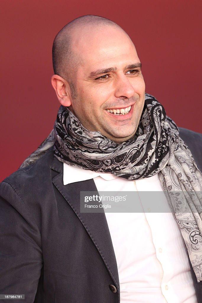 Checco Zalone attends the 'Checco Zalone' Premiere during The 8th Rome Film Festival at Auditorium Parco Della Musica on November 14, 2013 in Rome, Italy.