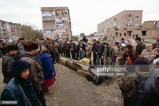 A Chechen fighter