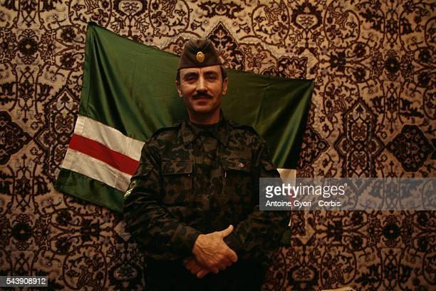 Chechen General Dzhokhar Dudayev