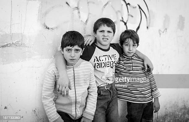 Chechen refugee children